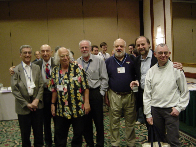 IEEEFUZZ 2003 photo of Dr. Ruspini with collegaues